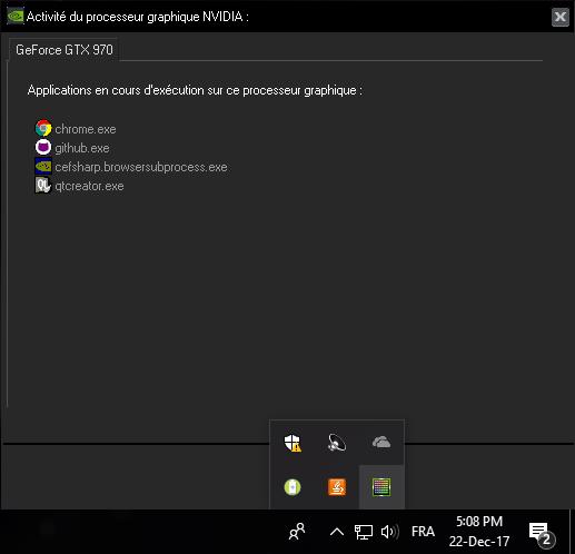 NVIDIA activity tracker